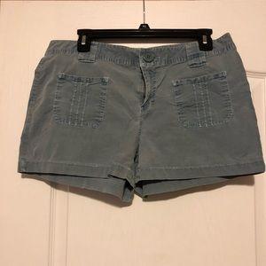 Light Blue Navy Shorts